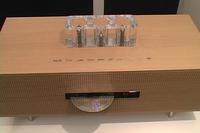 Инженеры Supercent объединили проигрыватель компакт-дисков и радиоприемник с ламповым усилителем