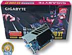 Gigabyte GV-RX24T256HP 256 Mb (Radeon HD 2400 XT)