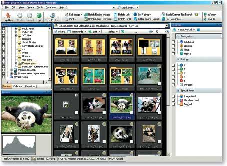 Управление коллекцией снимков — aдополнение или основная черта?