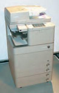 Без дополнительных опций любая модель из серии C5000 довольно компактна: занимаемая площадь 620в735 мм, вес 170 кг (с автоподатчиком оригиналов 1PDS)