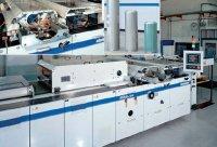 Шелкотрафаретная машина среднего формата Steinemann Hibis 104 для нанесения УФ-лаков и красок