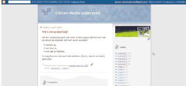 Рисунок. Опрос молодых участников проекта Citizen Media проводился через блоги, а члены старшей возрастной группы предпочитали ежедневно заполнять традиционные опросники