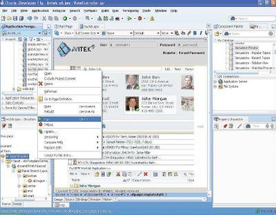 Наибольшее число новаторских решений реализовано в следующих компонентах Fusion Middleware: комплексе для разработки и эксплуатации Web-приложений WebLogic Suite 11g; средстве реализации сервис-ориентированной архитектуры на базе открытой спецификации SCA SOA Suite 11g; пакете для управления идентификационными данными Oracle Identity Management 11g; а также наборе портальных Web-компонентов WebCenter Suite 11g