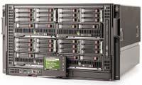 Рисунок 3. Специально для среднего класса: HP предусмотрела для Blade Enclosure c3000  модули с жестким диском или стримером.