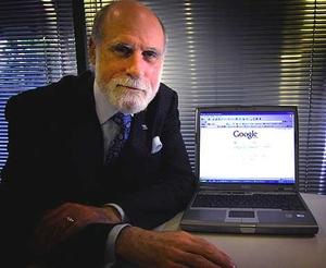 Винт Серф, один из авторов TCP/IP, работающий сегодня в Google