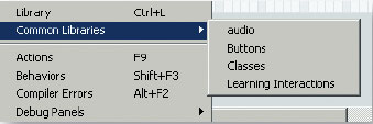 Рис. 2. Библиотека audio в перечне Common Libraries