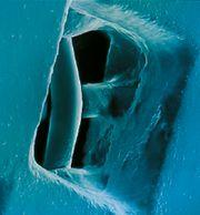 Рис. 11. Технология многократного нанесения эмульсии позволяет создавать формы любой требуемой толщины