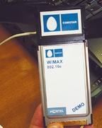 Благодаря появлению компактных WiMAX-адаптеров с интерфейсами USB и PCMCIA должна заметно повыситься доступность услуг WiMAX для абонентов