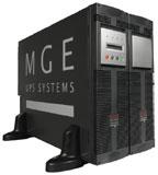 11кВА, 8кВт, On-Line, 40-70Гц, 2 входа по питанию, клеммный блок, горячая замена батарей и силового модуля...