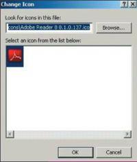 Экран 6. Настройка доступных значков