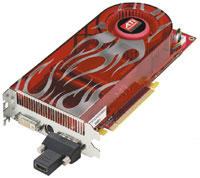 Дополнительный внешний HDMI-адаптер для видеокарт семейства Radeon HD 2000 обеспечивает передачу видео и звука со стандартного выхода DVI