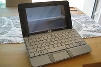 HP 2133 Mini-note, весящий всего 1,19 кг, имеет корпус из анодированного алюминия