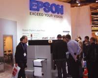 Прототип цифровой струйной машины Epson, демонстрировавшийся на Labelexpo Europe-2007 в Брюсселе