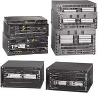 Модели линейки маршрутизаторов ASR 1000 будут выполнены вформфакторах 2U, 4U и6U
