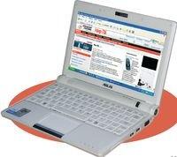 Главная особенность EEE PC 900 — сенсорная панель, поддерживающая набирающий популярность режим «мультитач»