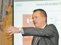 На защите информационных потоков. Как подчеркивает Илка Хиденхеймо, генеральный директор StoneSoft, устройства безопасности не должны препятствовать потоку данных.