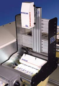 Рис.2. Система инспекции с направленным освещением на устройстве перемотки