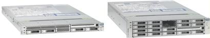Серверы SPARC Enterprise T5140 и T5240 основаны на процессорах Sun Niagara, которые были выпущены в прошлом году