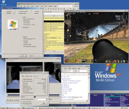 Начав в 1990 году с Windows 3.0 и закончив в 2000‑м Windows ME, Microsoft выпустила пять версий Windows, поддерживающих как 16‑разрядные, так и 32‑разрядные программные системы. В отличие от этого, Windows 7 станет лишь третьей по счету версией Windows, работающей одновременно с 32‑разрядными и 64‑разрядными программами (впервые поддержка 64‑разрядных систем появилась XP в 2005 году)
