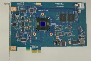 SpursEngine представляет собой сопроцессор, размещаемый в системе наряду с главным процессором и служащий для выполнения сложных вычислительных задач, связанных с обработкой графики и видео в режиме реального времени