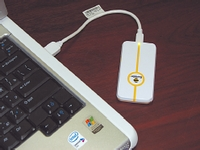 Ноутбук с USB-модемом ZTE, входящим в комплект поставки «Билайн Интернет Дома»