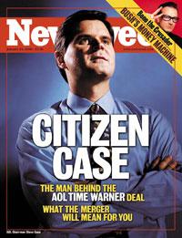 Мегаслияние America Online и Time Warner, состоявшееся в 2001 году и ставшее самым крупным в истории на тот момент, широко обсуждалось в средствах массовой информации всего мира, а легендарный председатель совета директоров AOL Стив Кейз попал на обложку журнала Newsweek
