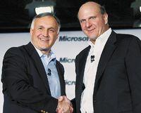 Весьма неоднозначный альянс между генеральным директором Novell Роном Ховсепяном и главой Microsoft Стивом Балмером продолжается уже третий год