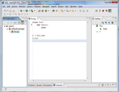 В состав Europa также входит Dynamic Languages Toolkit 1.0, который представляет собой общую платформу для создания инструментальных средств для динамических языков, таких как Perl, Ruby иPHP