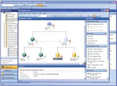 System Center Operations Manager 2007— это первый продукт управления для поддержки SDM, набазе которого можно создавать модели, используемые серверами иприложениями для определения их операционных потребностей ипередачи этих данных всеть