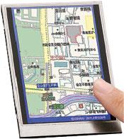Поскольку положение пальцев определяется сканером, ане чувствительным кприкосновению дисплеям, можно коснуться экрана влюбом месте, ион распознает все нажатия