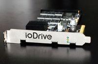 Устройство ioDrive, построенное на базе флэш-памяти, способно выполнять сотни тысяч операций ввода/вывода в секунду с очень малым временем задержки