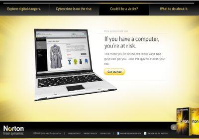 Norton Online Risk Calculator определит вашу «стоимость» на черном рынке, задав всего несколько вопросов о характере использования вами Internet