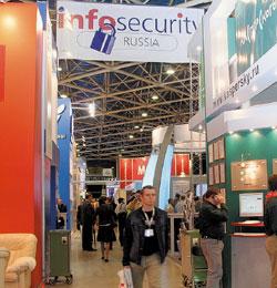 Вэтом году четвертая специализированная выставка-конференция по информационной безопасности Infosecurity Russia соберет, по прогнозам, около 5,5тыс. посетителей. Одновременно на той же площадке пройдут две другие выставки— Storage Expo, посвященная системам хранения данных, иDocumation, представляющая продукты иуслуги по управлению корпоративной электронной информацией