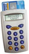Криптокалькулятор представляет собой картридер Digipass 810 склавиатурой ижидкокристаллическим дисплеем. Внешне он напоминает бытовой карманный калькулятор. Устройство полностью автономно, не требует подключения ккомпьютеру