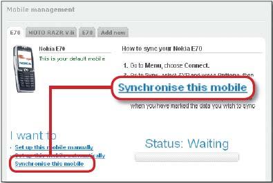 Рис. 4. На сайте Zyb.com можно автоматически создавать резервные копии телефонной книги своего мобильного телефона.