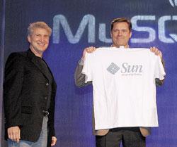 В результате сделкипо приобретению компании MySQL— самой крупной за всю историю существования программного обеспечения категории Open Source— Sun становится обладателем важнейшей составной части популярного сегодня инфраструктурного программного стека LAMP (Linux, Apache, MySQL, Perl/Python/PHP)