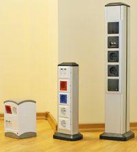 Рисунок 11. Специалисты компании «Экопласт» считают, что сервисные стойки и мини-колонны являются идеальным решением для организации рабочих мест в «открытых офисах».