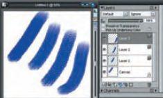 Настраиваемые текстуры бумаги придадут вашему творению абсолютную реалистичность при уровне детализации, недоступном для традиционной фотографии. Здесь был проведён эксперимент: созданы слои с заменой типа бумаги в регуляторе Paper Selector. Результат налицо!