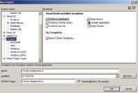 Заготовка нового оконного проекта в Oxygene 3.0 очень напоминает аналог из Delphi for WinForms