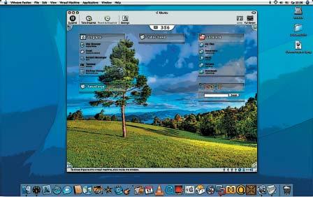 VMware Fusion позволяет запускать даже самые экзотические версии Linux. На рисунке — SymphonyOS, основанная на Ubuntu