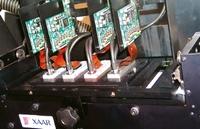 Стенд Xaar. Пьезоэлектрические струйные головки Xaar 1001 — один из главных персонажей Drupa-2008