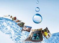 Чернила HP Latex Ink устойчивы к воздействию дождя и снега; они хорошо подходят для изготовления наружной рекламы и вывесок
