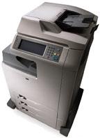 Многофункциональное цветное устройство HP Color LaserJet CM4730рассчитано, впервую очередь, нарабочие группы численностью от шести допятнадцатичеловек