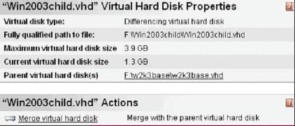 Экран 1. Инспектирование VHD перед импортом
