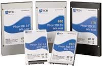 Выбор вкачестве поставщика твердотельных дисков относительно небольшого производителя, Mtron, достаточно интересен, ведь сегодня на этом рынке немало крупных компаний, вчисле которых можно выделить Samsung, Micron иSanDisk