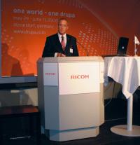Питер Вильямс (Infotec Europe) заверил, что Ricoh Pro 900 поступит в продажу уже в III кв. по очень конкурентной цене