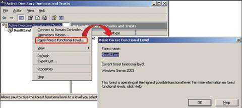 Экран 3. Проверка или изменение функционального уровнялеса