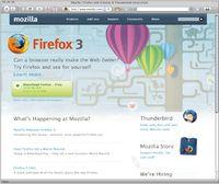 По мнению аналитиков, Firefox 3.0— это эволюционное, ане революционное обновление