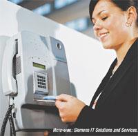 Рисунок 3. Биометрический контроль доступа с применением смарт-карты и сверкой отпечатков пальцев повышает  уровень безопасности при доступе в здание.