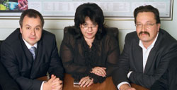 Слева направо: В. Сидоров, И. Иоаннесян, В. Семёнов